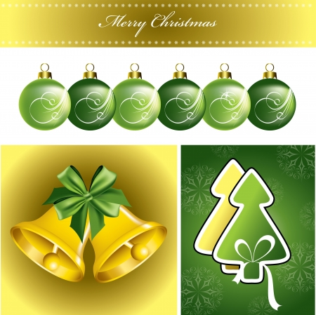 Christmas Background  Vector Illustration  Stock Vector - 21678520