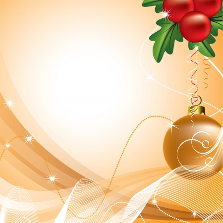 x mas background: Christmas Background  Vector Illustration  Illustration