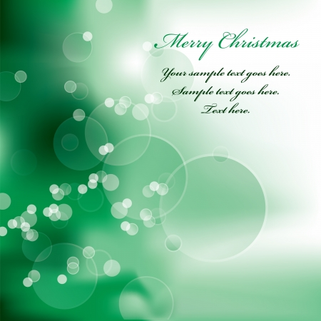 winding: Christmas Background  Vector Illustration