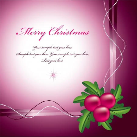 Christmas Background  Vector Illustration   Stock Vector - 21678771