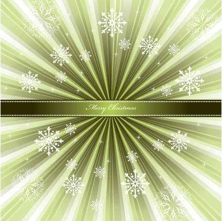 horizontal: Christmas Background. Illustration.