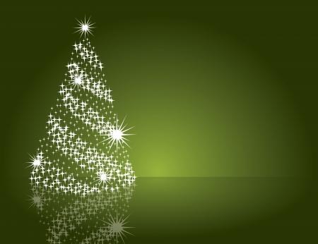 mirrow: Christmas Background . Illustration.
