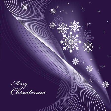 ornamented: Christmas Background. Illustration.