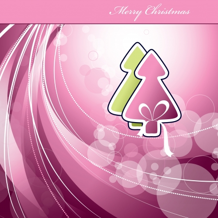 Christmas Background . Illustration. Vector