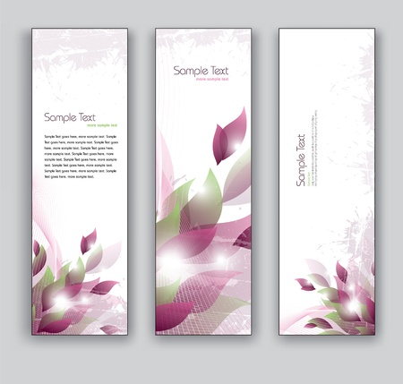 Abstract Banners  Backgrounds