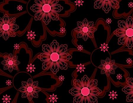 Floral Background  Illustration Фото со стока - 22195725