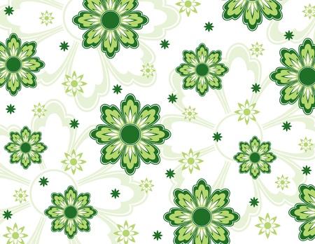 Floral Background  Illustration Фото со стока - 22195727