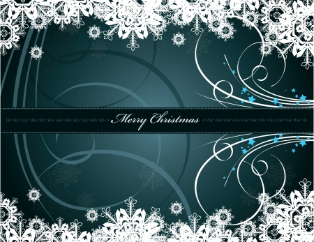 swirl: Christmas Background  Illustration