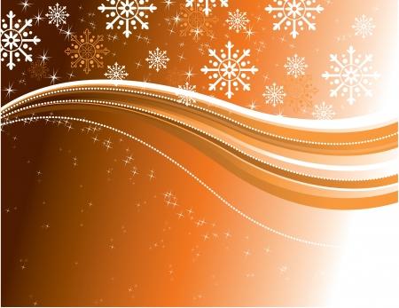ornamented: Christmas Background  Illustration