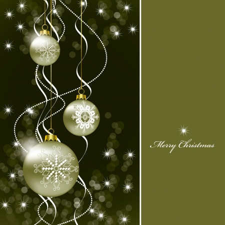 Christmas Background  Illustration