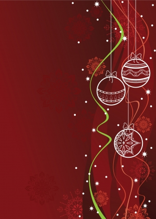 Christmas Background  Illustration   Vector