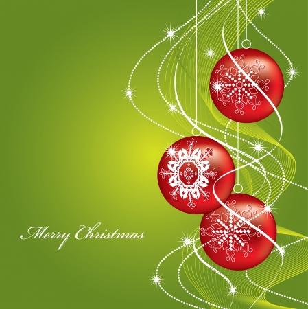 ornamented: Christmas Background  Design    Illustration