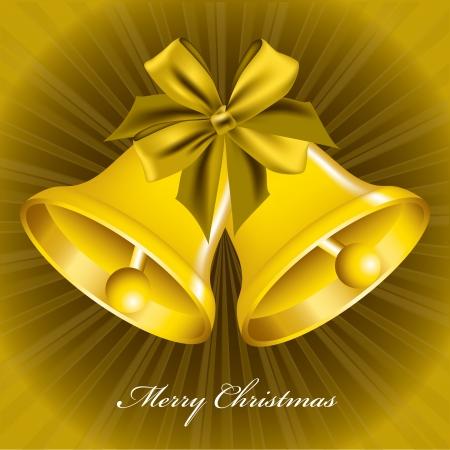 Christmas Bells  Illustration  Stock Vector - 22195930