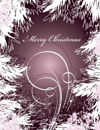 glass reflection: Christmas Background  Design