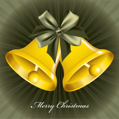 Christmas Bells  Abstract Illustration  Vector