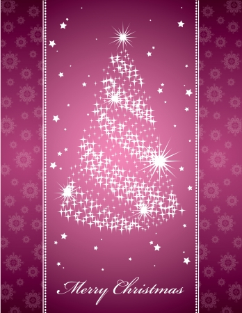 Christmas Background  Abstract Illustration  Vettoriali