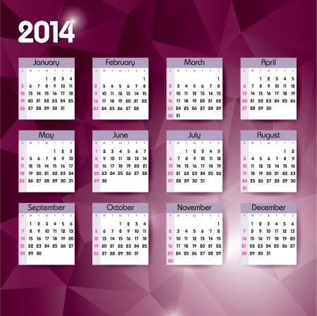 jammed: 2014 Calendar   Illustration