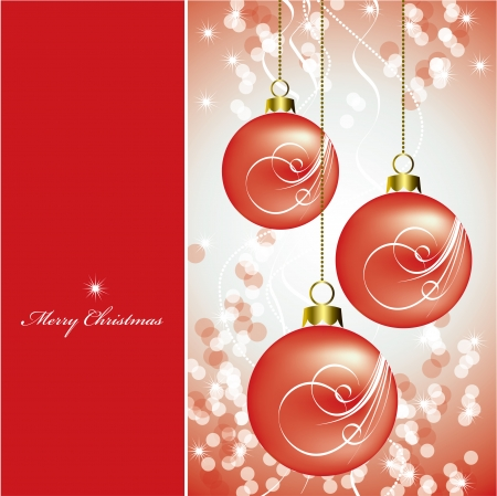 Christmas Background  Abstract Illustration  矢量图像