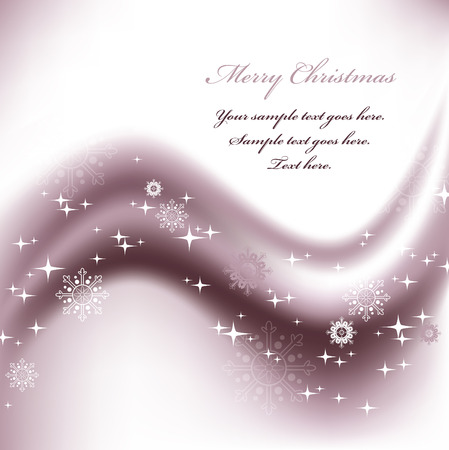 ornamented: Christmas Background  Abstract Illustration  Illustration