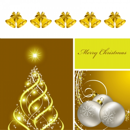 Christmas Background  Vector Design  Eps10