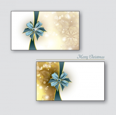 postcard background: Greeting cards   Gift cards with blue bows