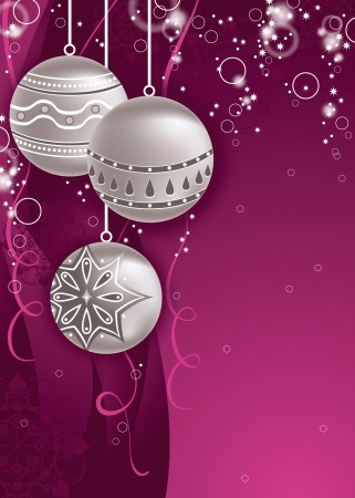 ornamented: Christmas Background  Abstract Design
