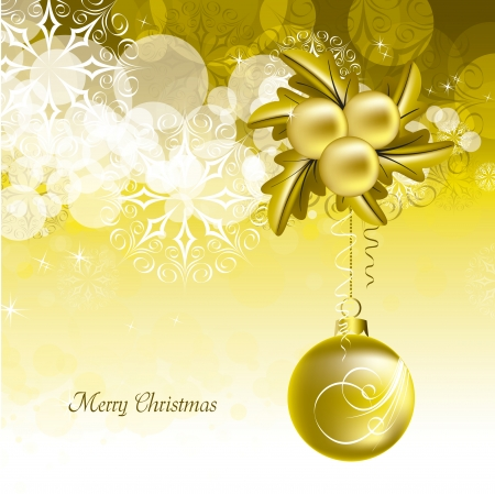Christmas Background Stock Vector - 23549836