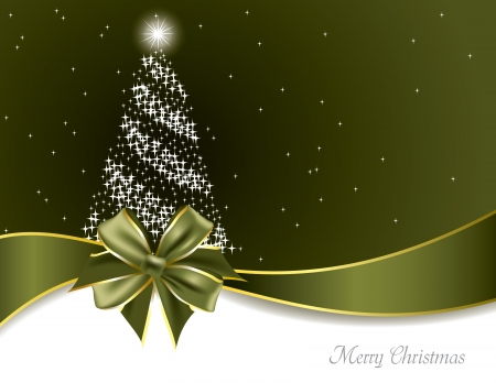 postcard template: Christmas Background