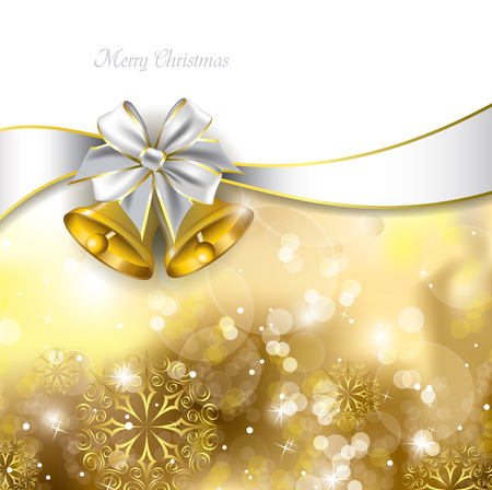 Christmas Bells  Vector Illustration  Иллюстрация