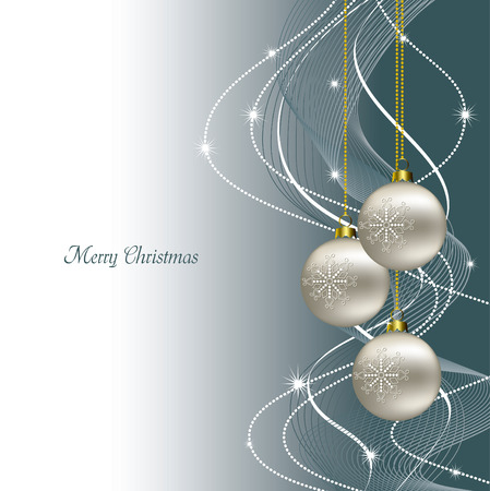Christmas Background Vector Illustration Standard-Bild - 23670560