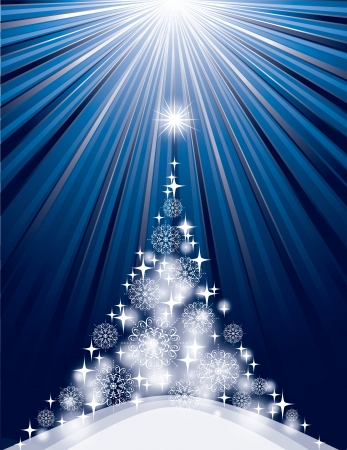 Christmas Background  Vector Illustration  Vector