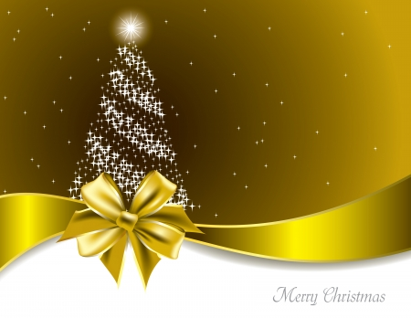 golden border: Christmas Background