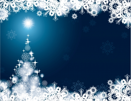 Christmas Background Stock Vector - 24056228