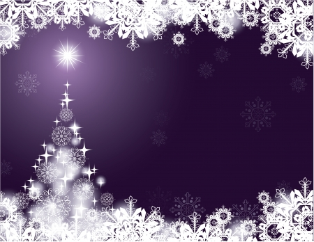 silver: Christmas Background  Modern Vector Illustration  Illustration