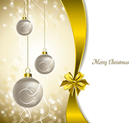 Christmas Background  Modern Vector Illustration  Vector