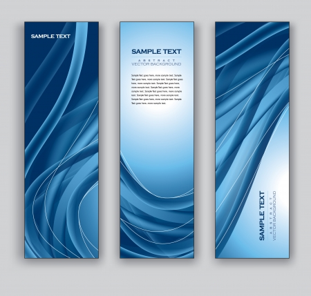 Vector Banners  Abstract Backgrounds Stok Fotoğraf - 24961703