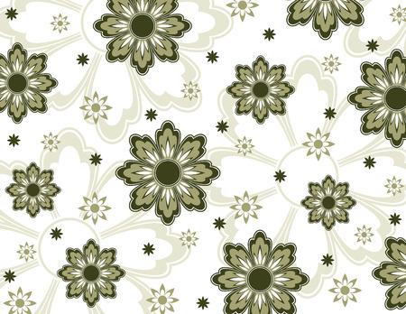 Floral Pattern  Abstract Illustration Иллюстрация