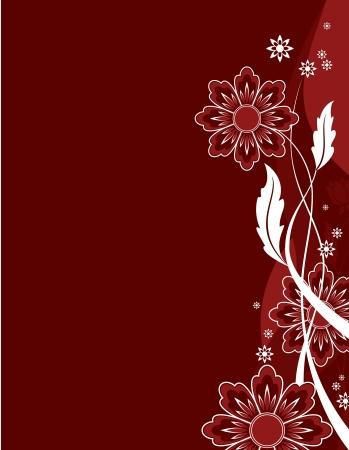 season: Floral Background  Abstract Illustration  Illustration
