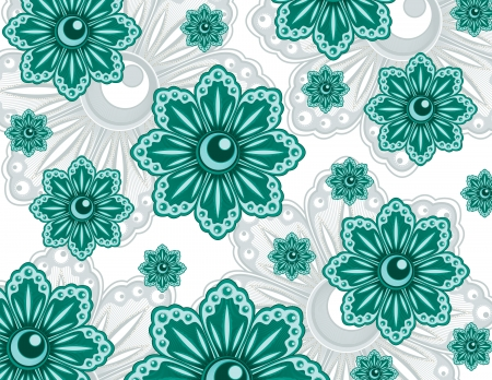 Floral Pattern  Abstract Illustration