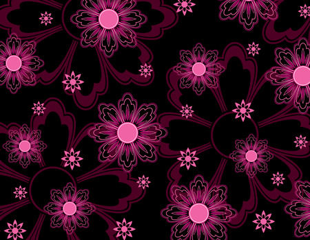 Floral Texture  Abstract Illustration Фото со стока - 25522741