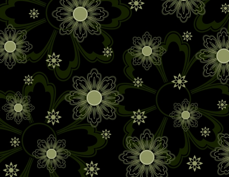 Floral Texture  Abstract Illustration Фото со стока - 25522743
