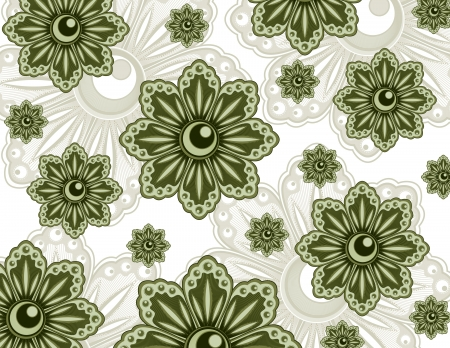 Floral Texture  Abstract Illustration Imagens - 25522751