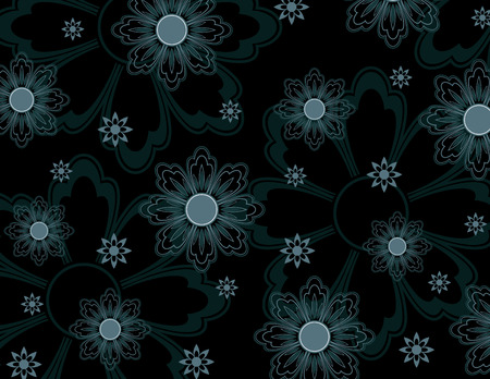 Floral Texture  Abstract Illustration Фото со стока - 25995299