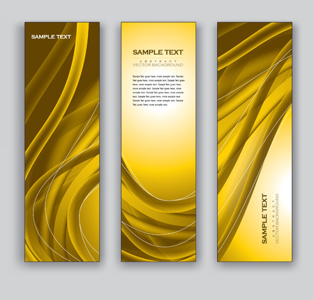 Banners  Vector Backgrounds  Illustration