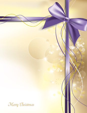 Christmas Background. Sparkling Illustration.