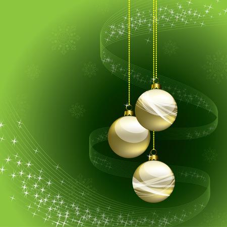 Christmas Background. Sparkling Illustration. Vector
