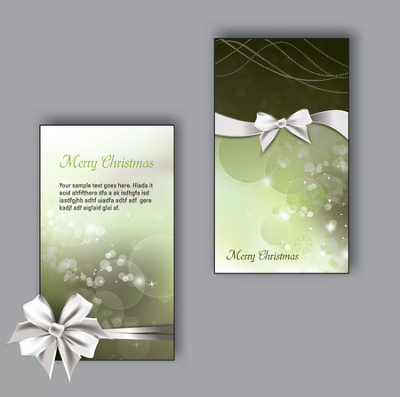 business event: Greeting Cards. Christmas Background. Illustration