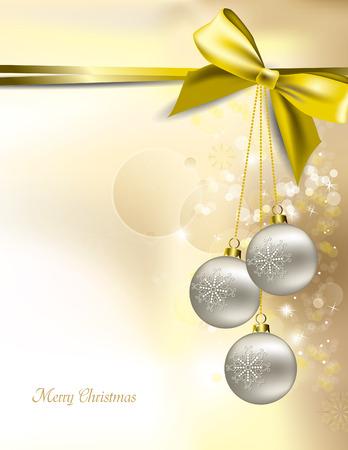 Christmas Vector Background. Stock Illustratie