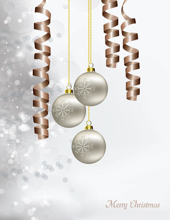 Christmas Vector Background. Vector