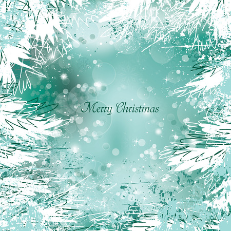 Christmas Vector Background. Çizim